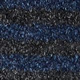 Chunky blended cotton socks, NAVY MEL., swatch