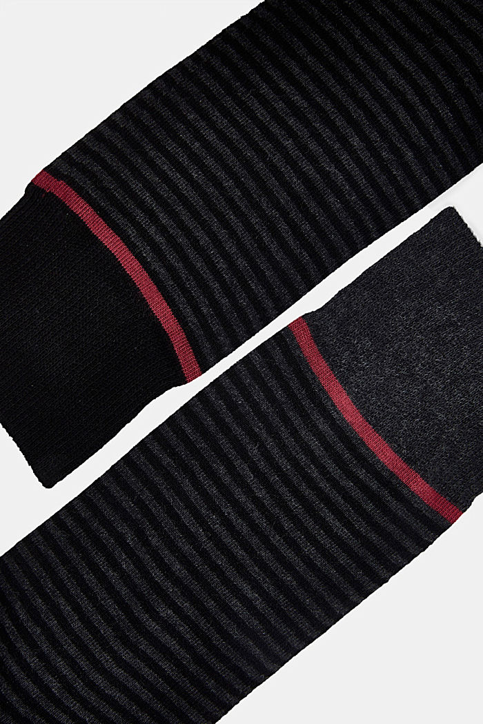 3-pair pack of blended cotton socks