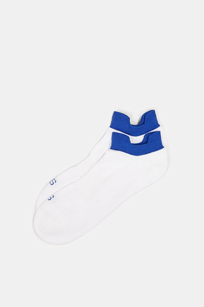 2er-Pack Sneaker-Socken mit Frotteesohle