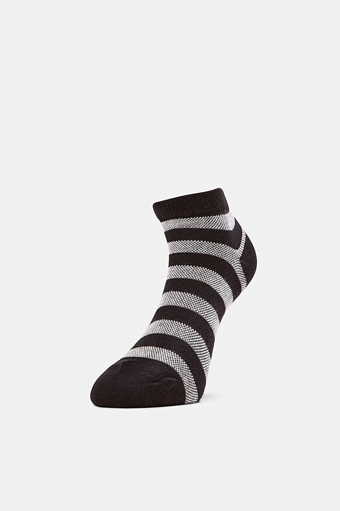 3er-Pack Sneaker-Socken aus Baumwoll-Mesh