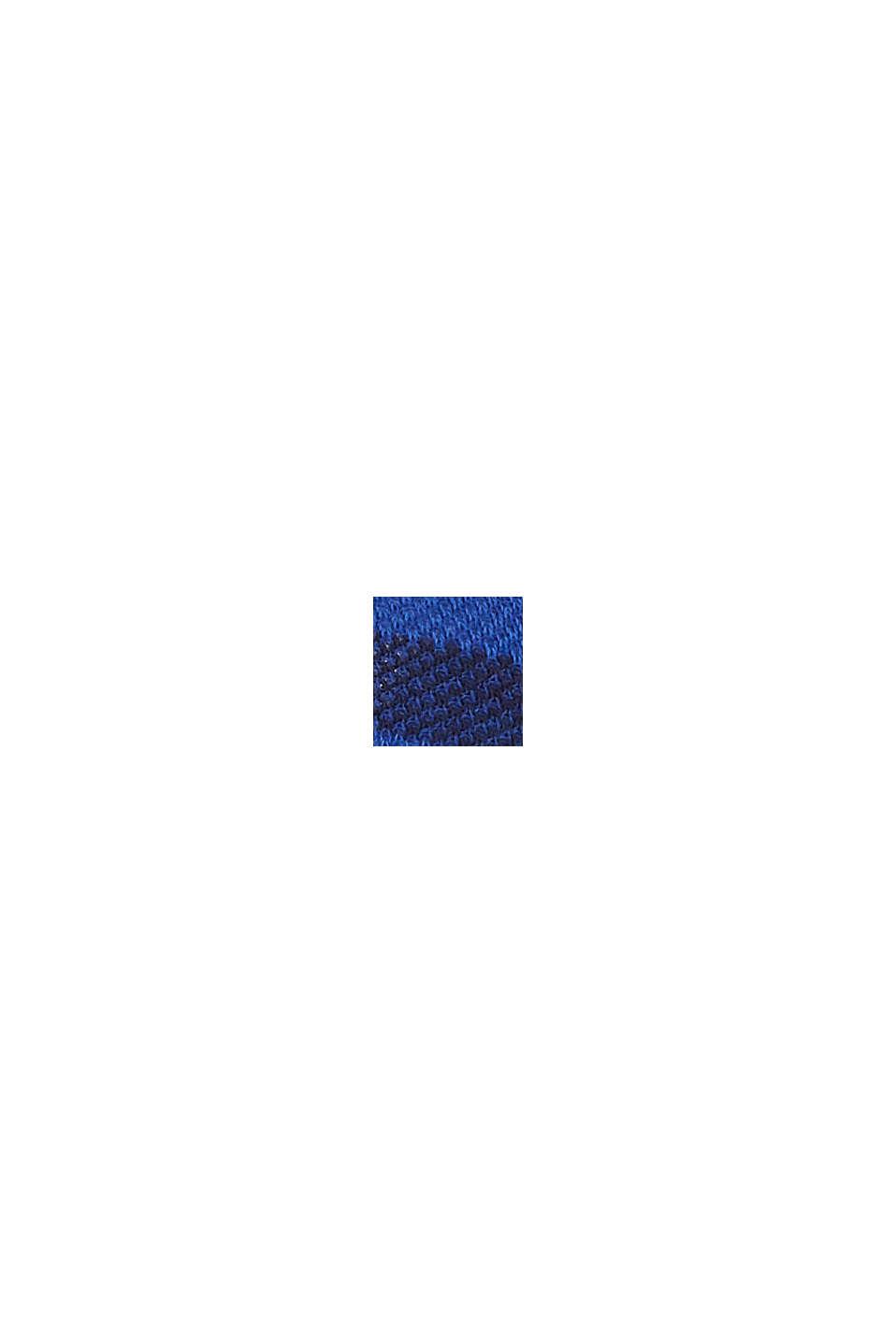 3er-Pack Sneaker-Socken aus Baumwoll-Mesh, DEEP BLUE, swatch