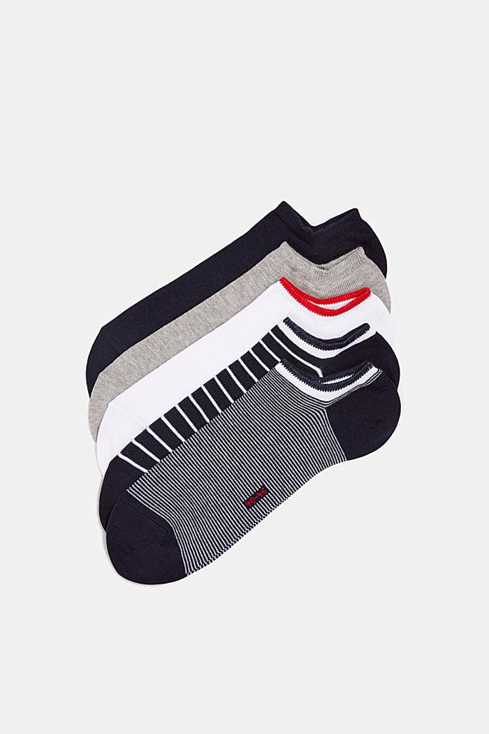 5er-Pack Sneaker-Socken aus Baumwoll-Mix, BLACK, detail image number 2