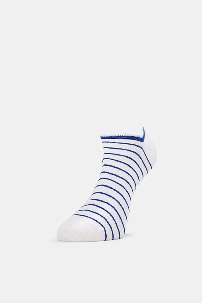 5er-Pack Sneaker-Socken aus Baumwoll-Mix, WHITE, detail image number 0