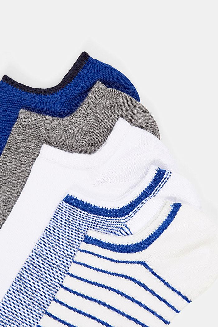 5er-Pack Sneaker-Socken aus Baumwoll-Mix