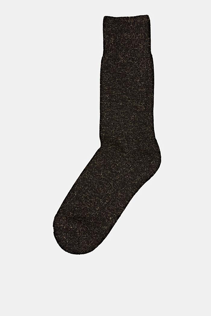 Gemêleerde sokken van een katoenmix, BLACK, detail image number 0