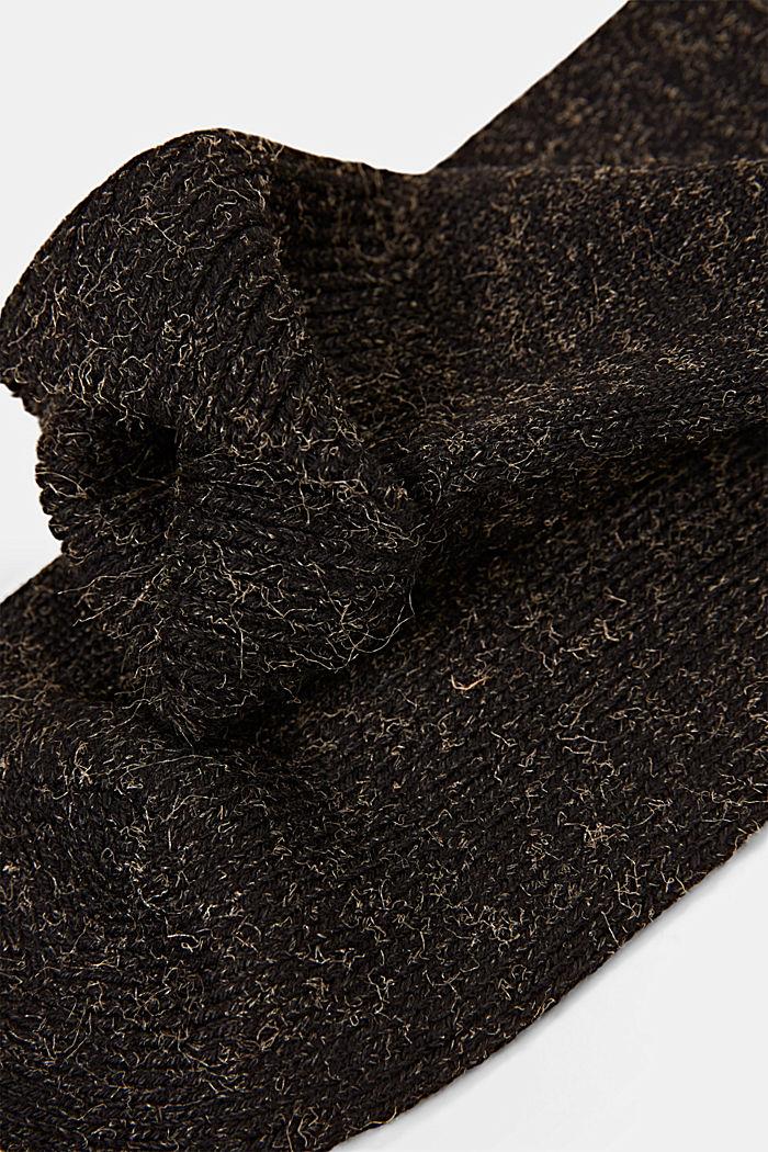 Gemêleerde sokken van een katoenmix, BLACK, detail image number 1
