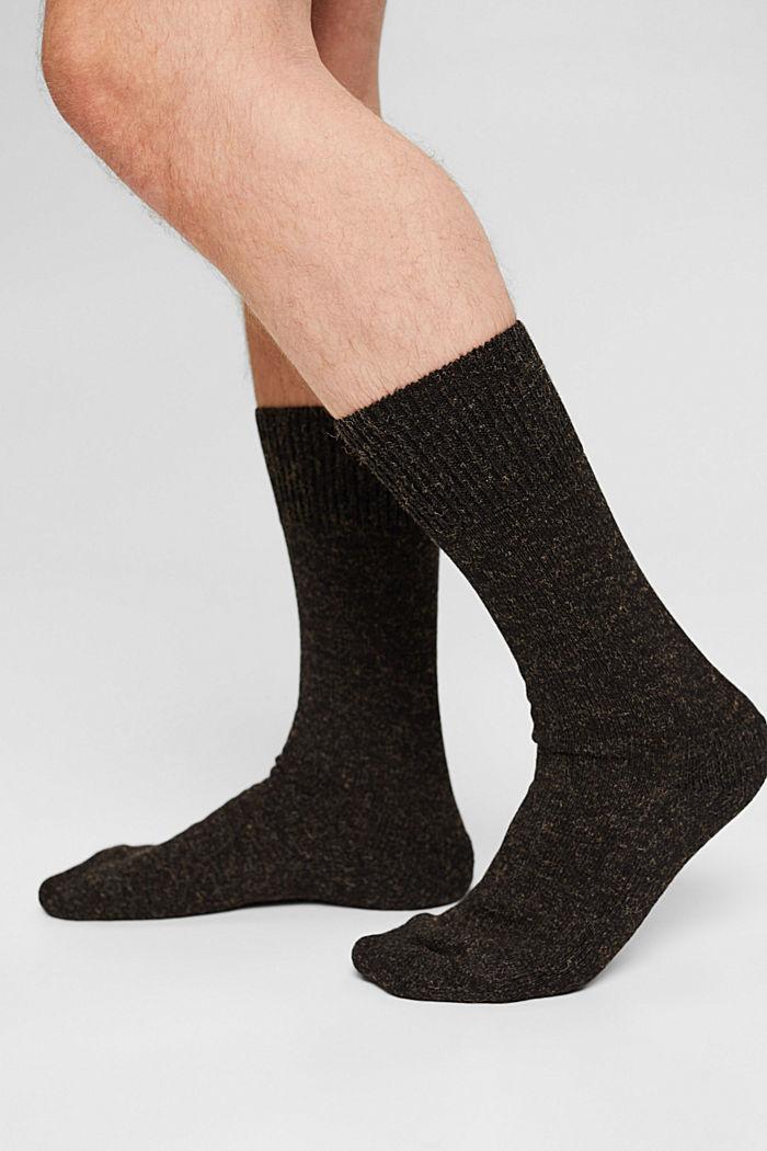 Gemêleerde sokken van een katoenmix, BLACK, detail image number 2