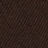 Double pack of blended cotton socks, DARK BROWN, swatch