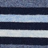 Double pack of socks with stripes, MARINE, swatch