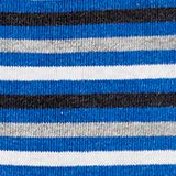 Double pack of socks with stripes, CORNFLOWER BL, swatch