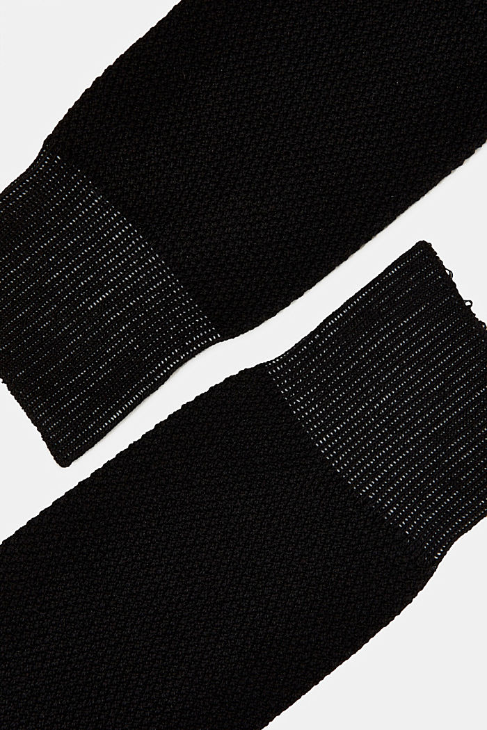 2er Pack Socken aus Baumwoll-Mix, BLACK, detail image number 1