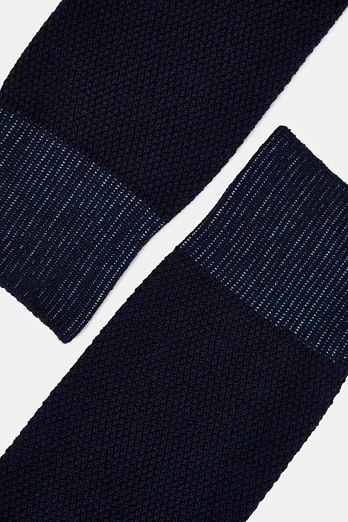 2er Pack Socken aus Baumwoll-Mix, MARINE, detail image number 1