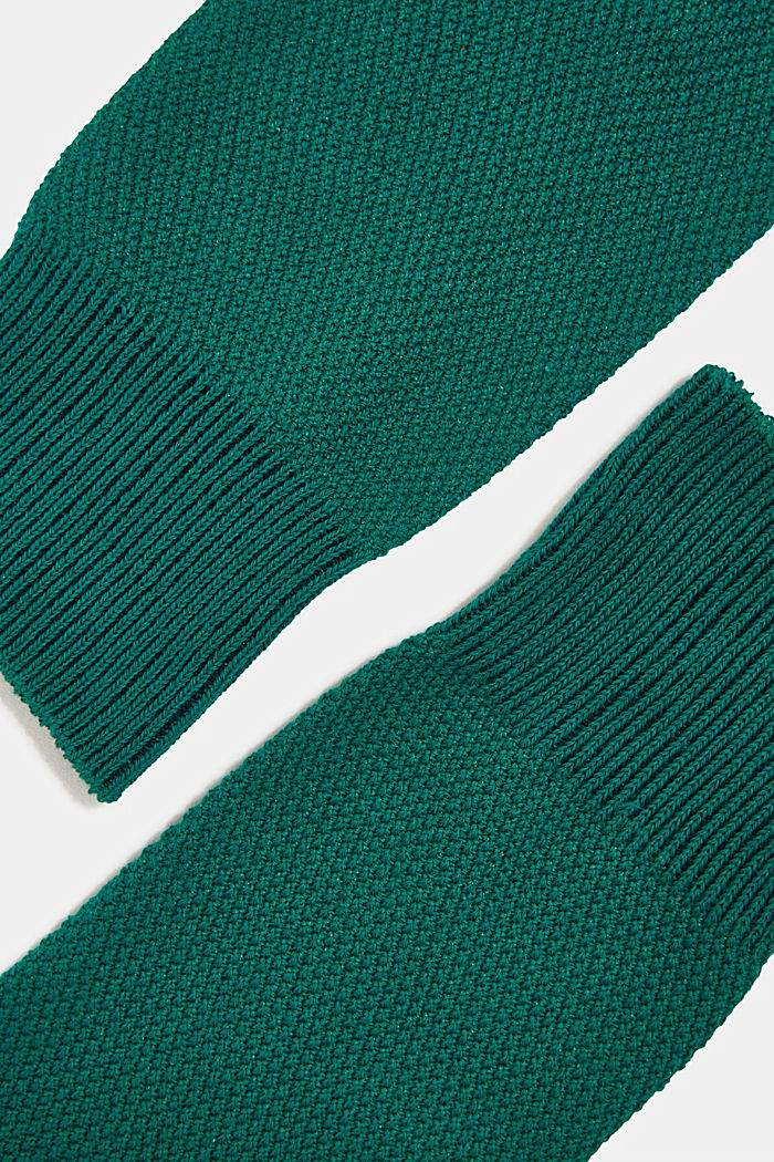 2er Pack Socken aus Baumwoll-Mix, DARK GREEN, detail image number 1
