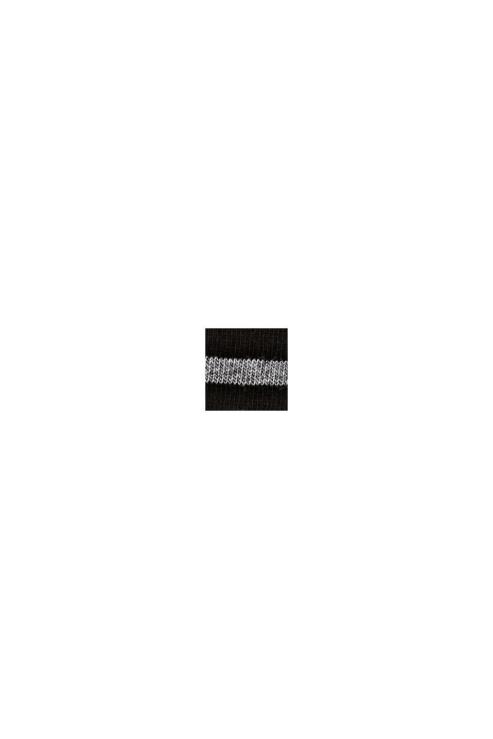 Calzini in confezione doppia, misto cotone biologico, BLACK, swatch