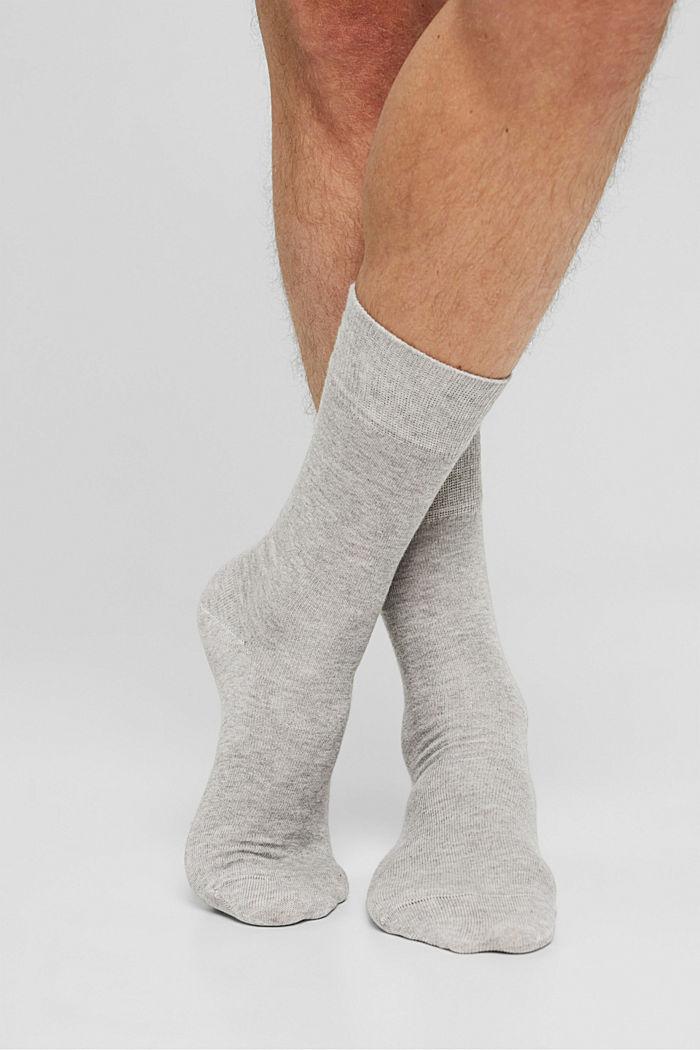 Skarpety z mieszanki bawełny ekologicznej, 2 szt.