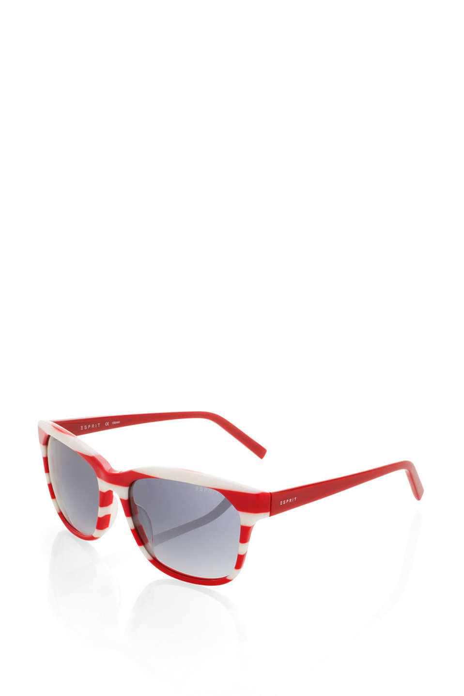 with contrasting colour temples