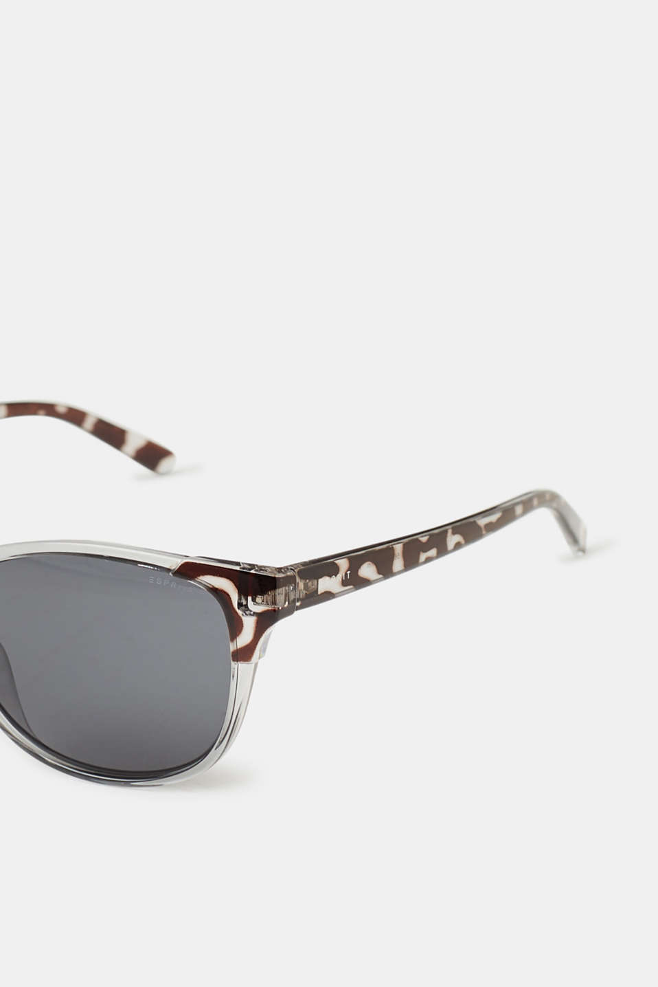 Sunglasses with an animal pattern