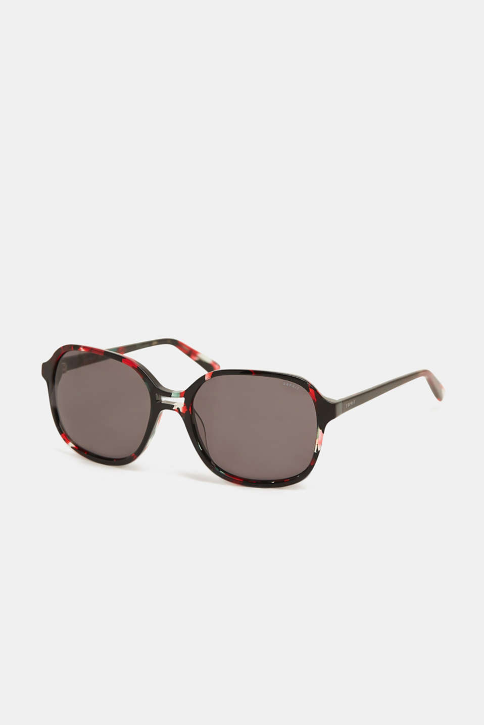 Esprit - Sunglasses with a marbled pattern