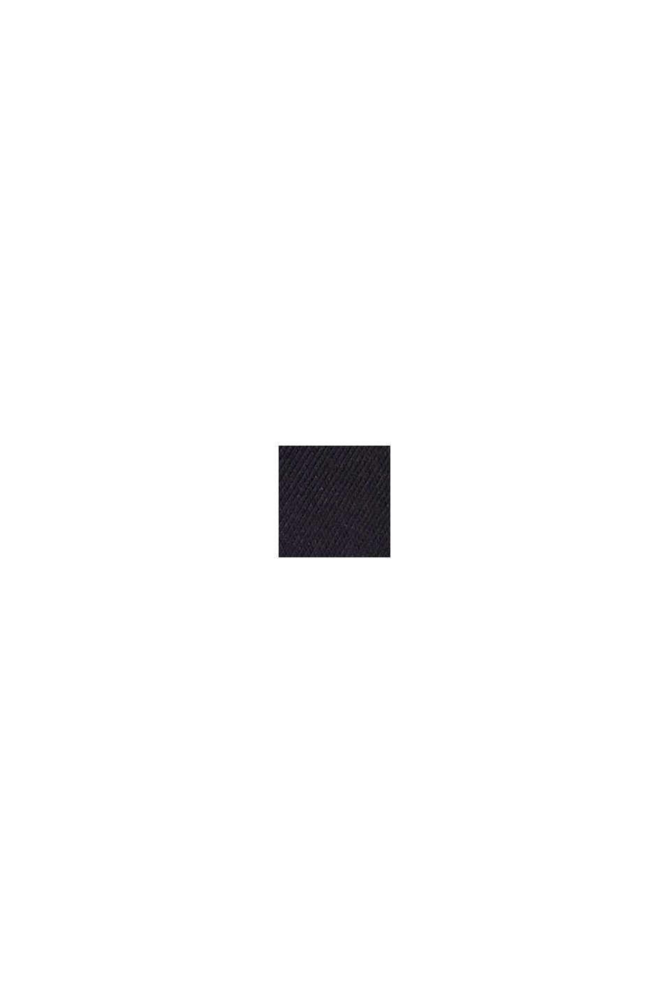 Strumpor i 5-pack, ekobomullsmix, BLACK, swatch