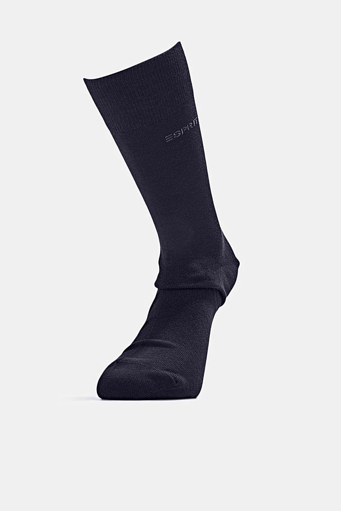 Ponožky ze směsi s bio bavlnou, 5 párů v balení, MARINE, detail image number 3