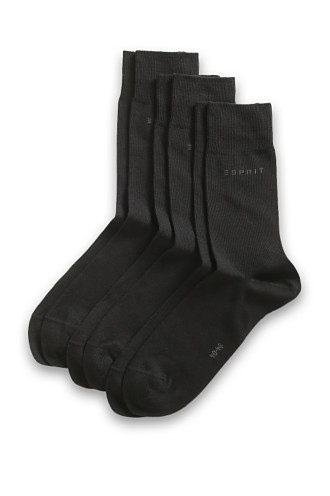 pack of 3 plain socks