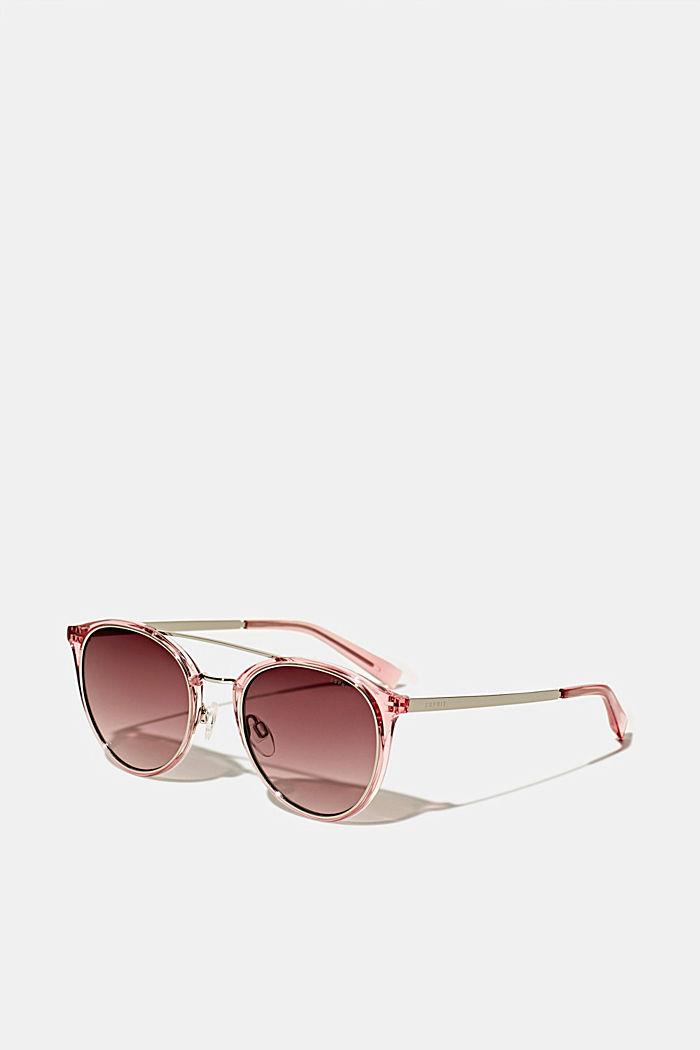 Sonnenbrille mit Metall-Details
