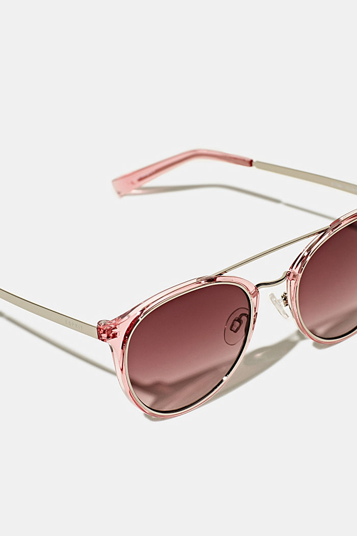 Sunglasses with metal details, ROSE, detail image number 1