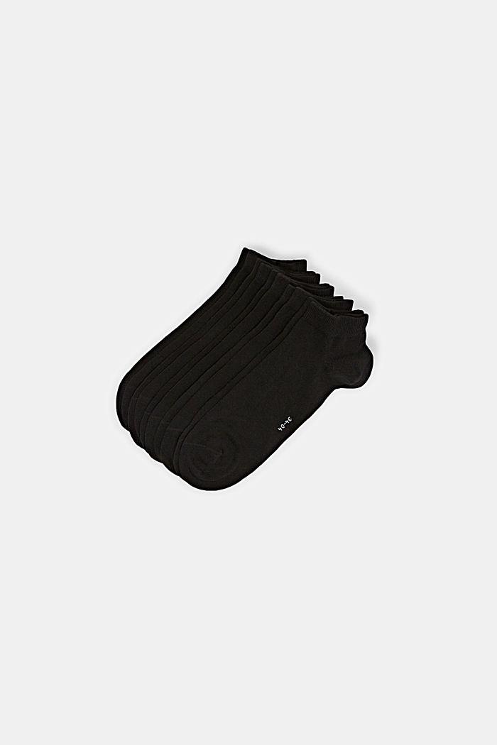 5er-Pack Sneaker-Socken aus Baumwoll-Mix, BLACK, detail image number 0