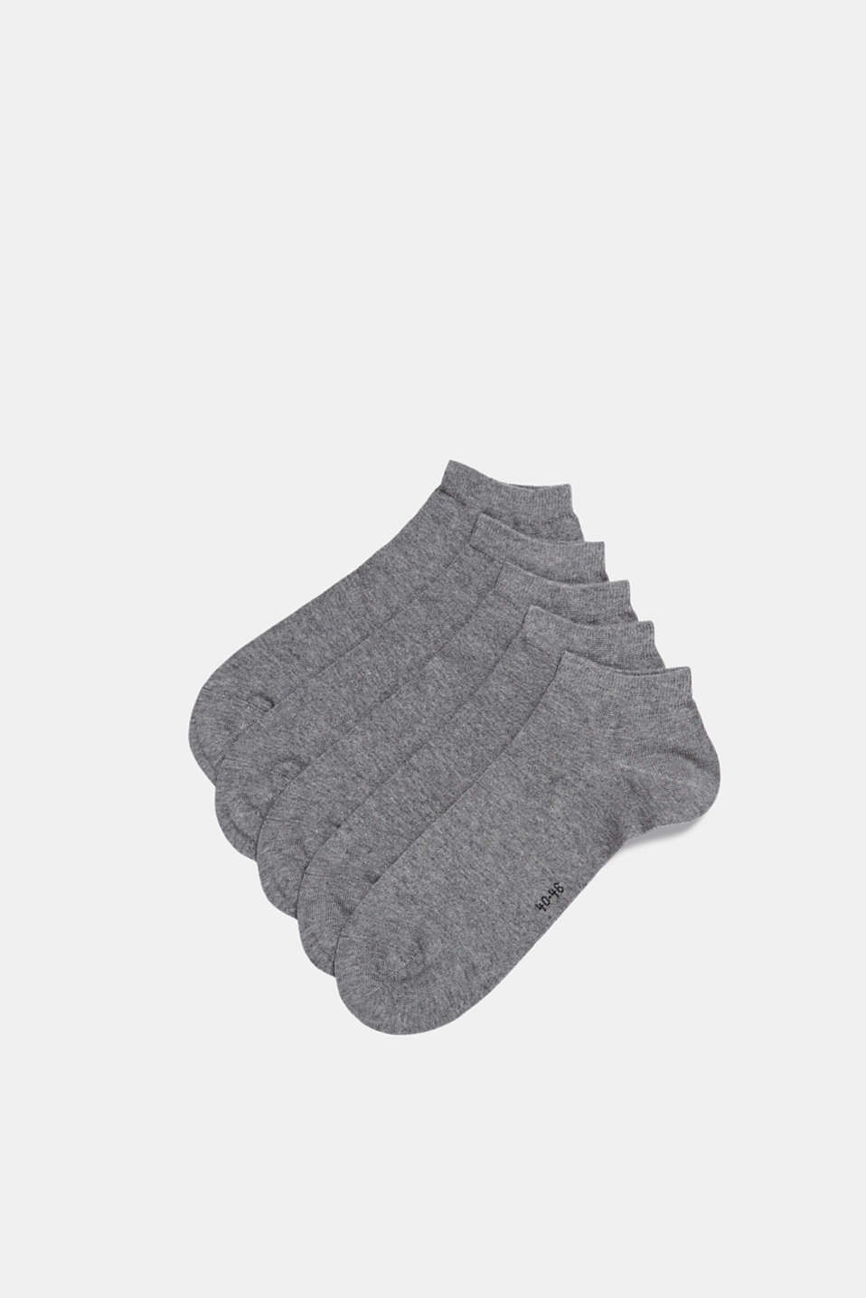 Esprit - 5-pack of blended cotton trainer socks