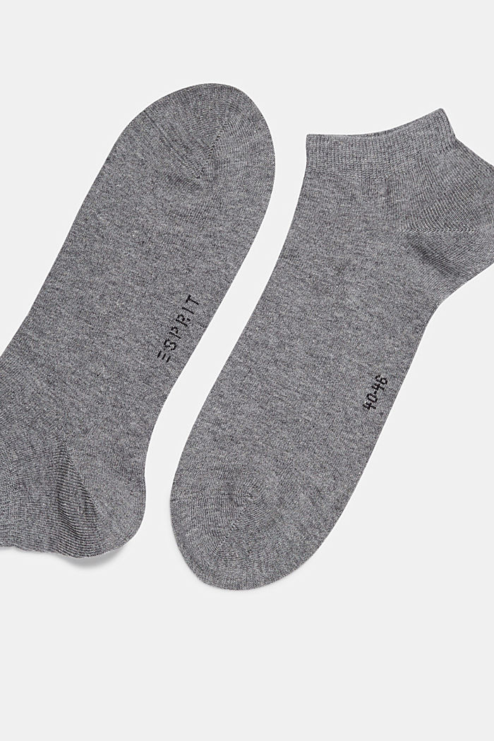 5er-Pack Sneaker-Socken aus Baumwoll-Mix, LIGHT GREY MELANGE, detail image number 1
