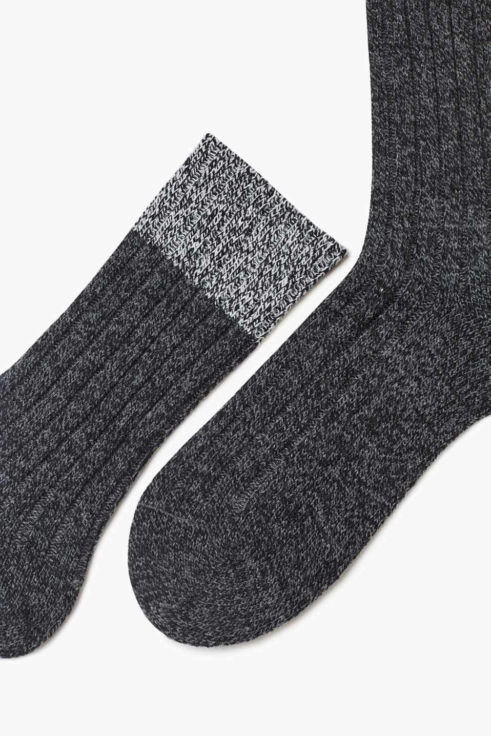 Knit socks with wool