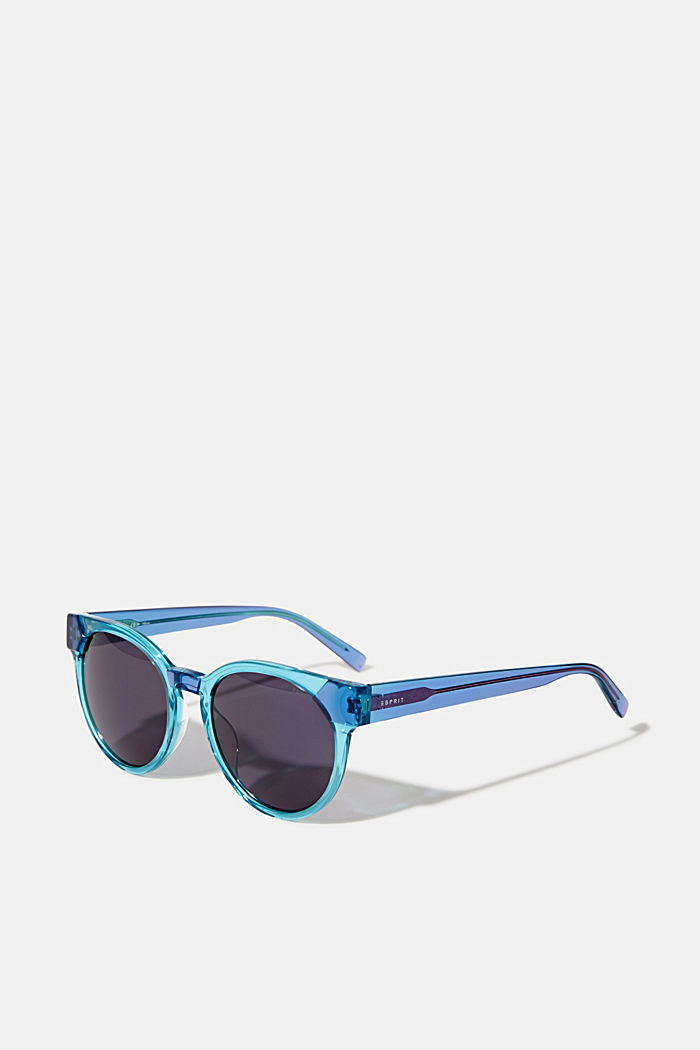 Sonnenbrille im Multicolor-Look, BLUE, overview