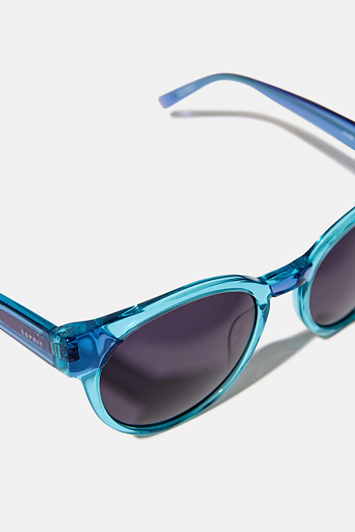 Sunglasses in a multi-coloured look, BLUE, detail image number 1