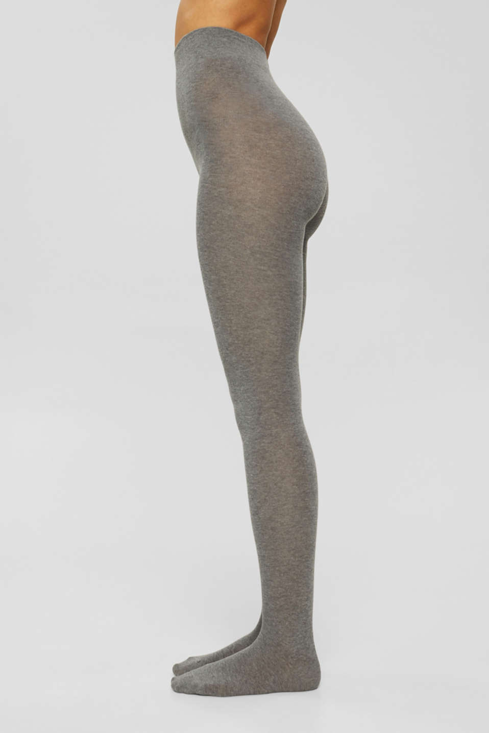 Esprit - Tights in blended cotton with added stretch