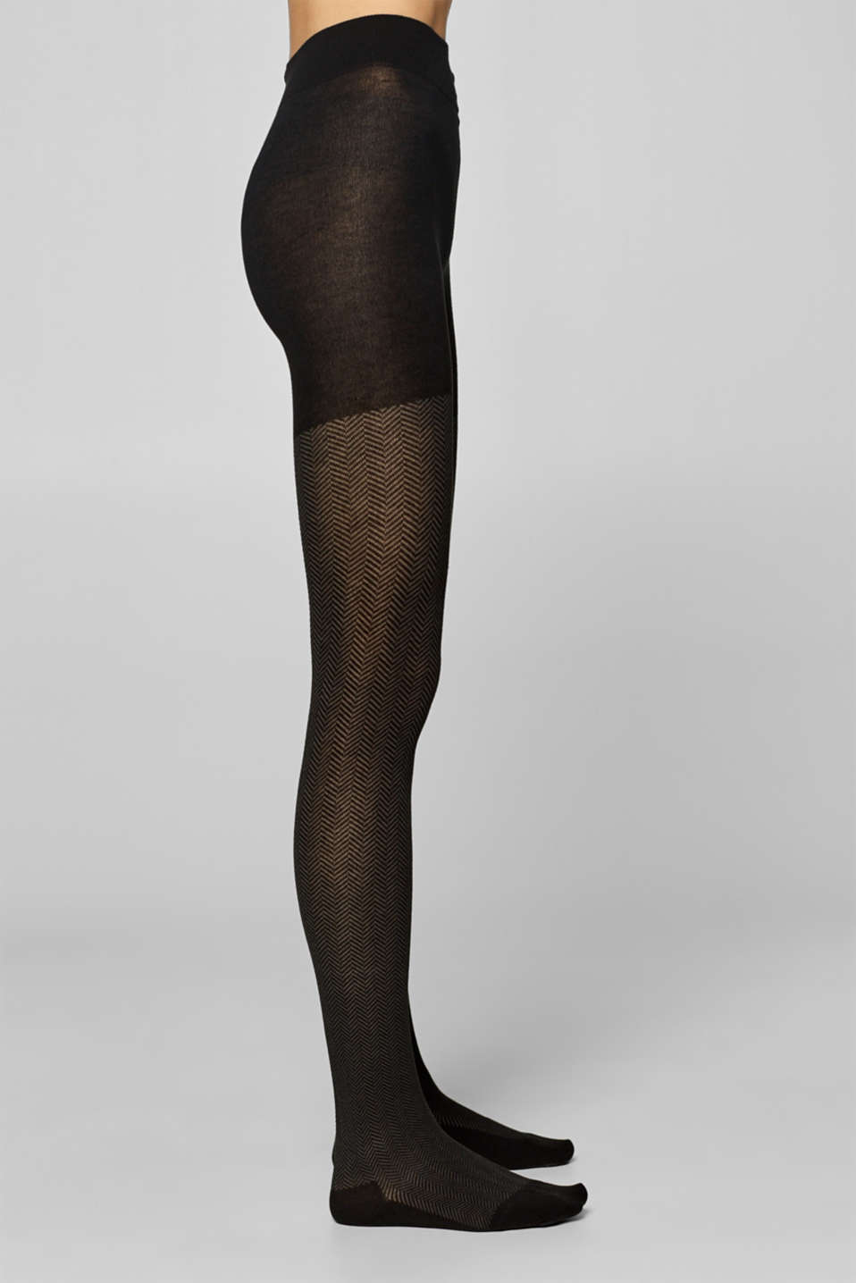 Tights, BLACK, detail image number 1