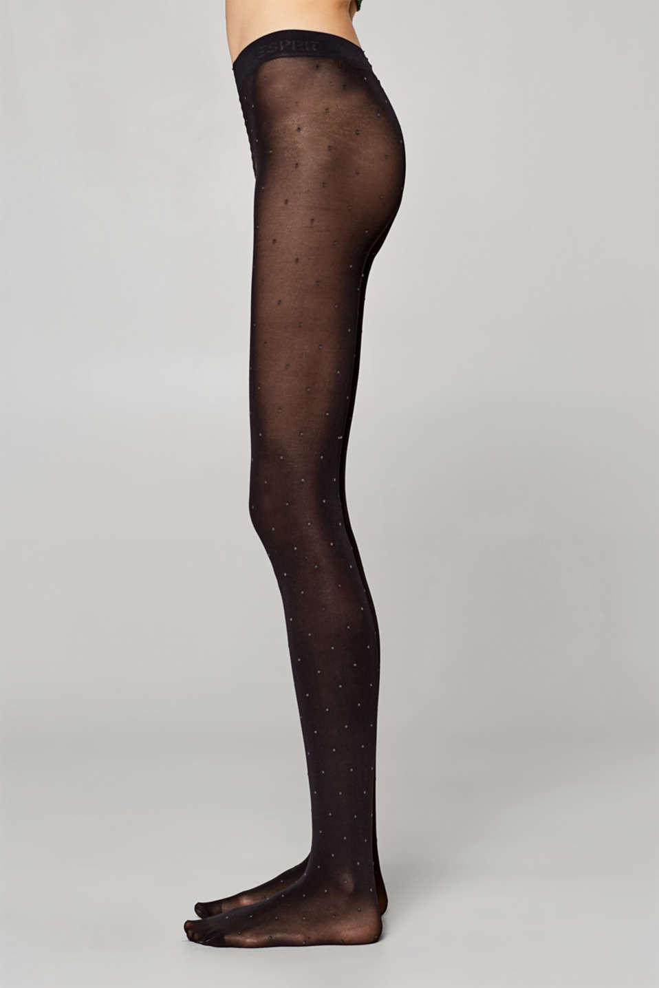 Esprit - Tights with polka dots