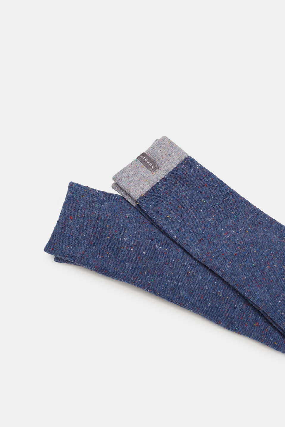 Leggings with dimples, in blended cotton, LIGHT DENIM, detail image number 1