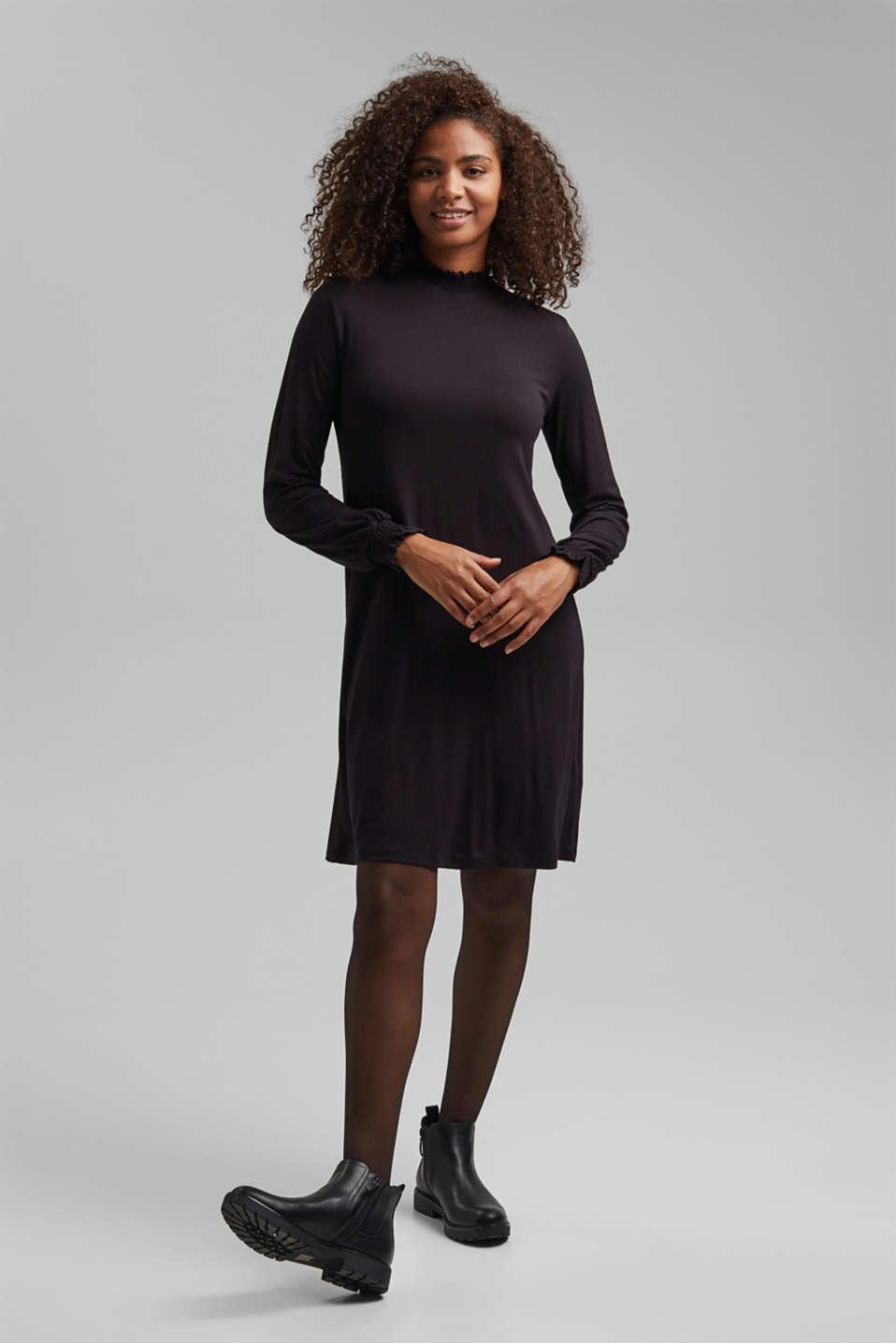 Sheer tights, 20 denier, BLACK, detail image number 1