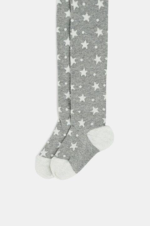 Tights with sparkly stars