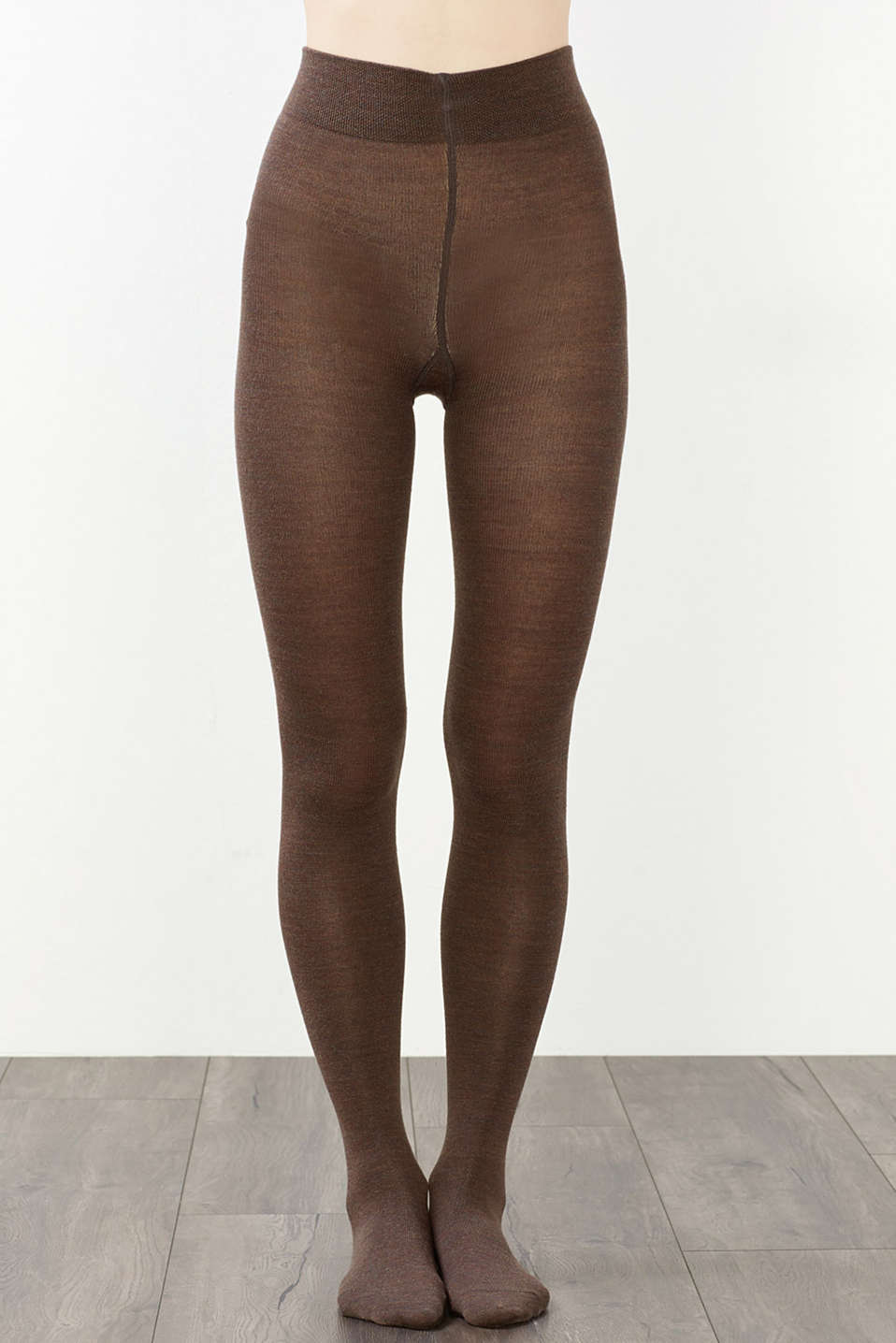 Esprit - Tights made of soft knit yarn with wool