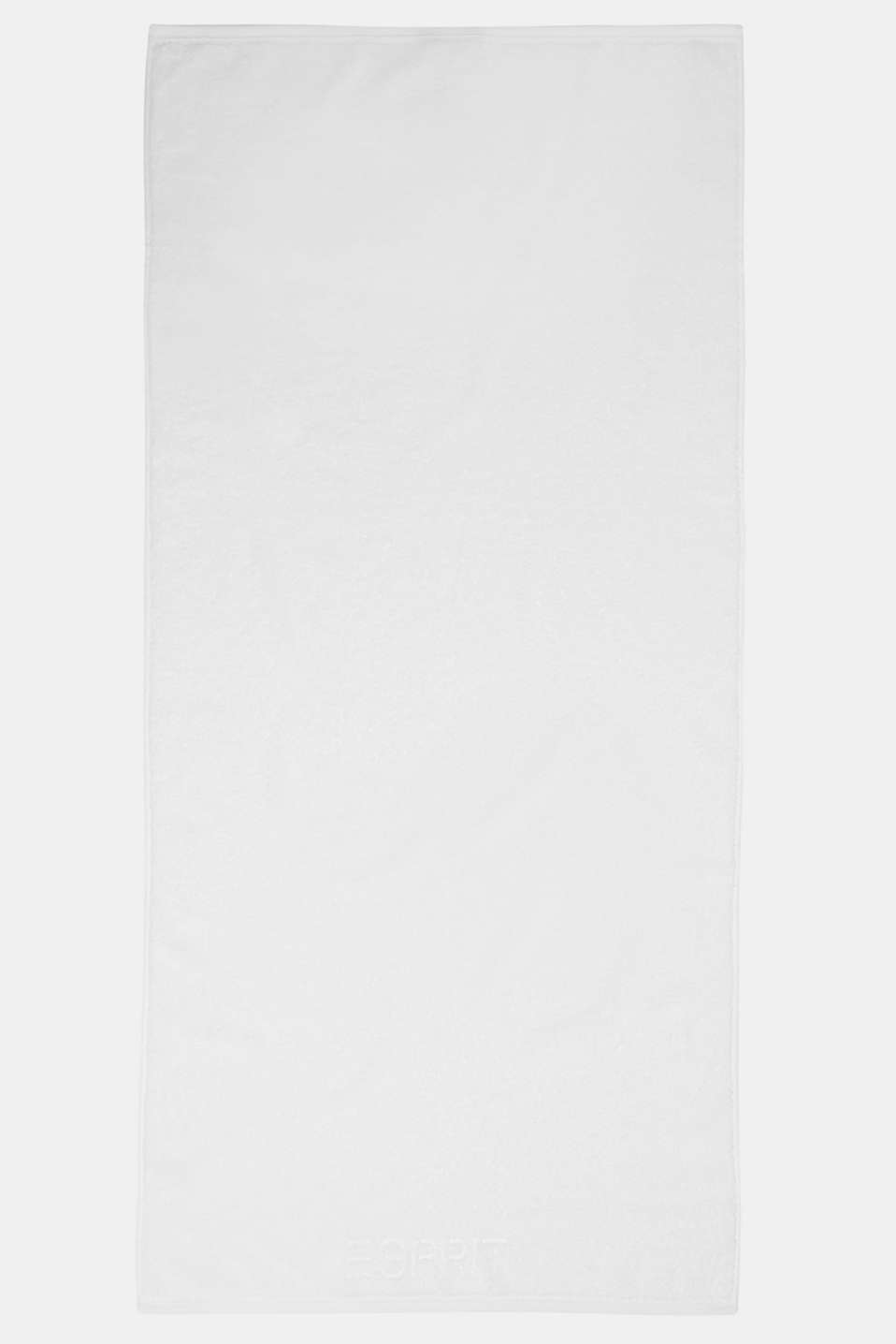 With TENCEL™: terry cloth towel collection, WHITE, detail image number 0