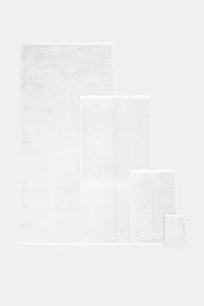 With TENCEL™: terry cloth towel collection, WHITE, detail image number 4