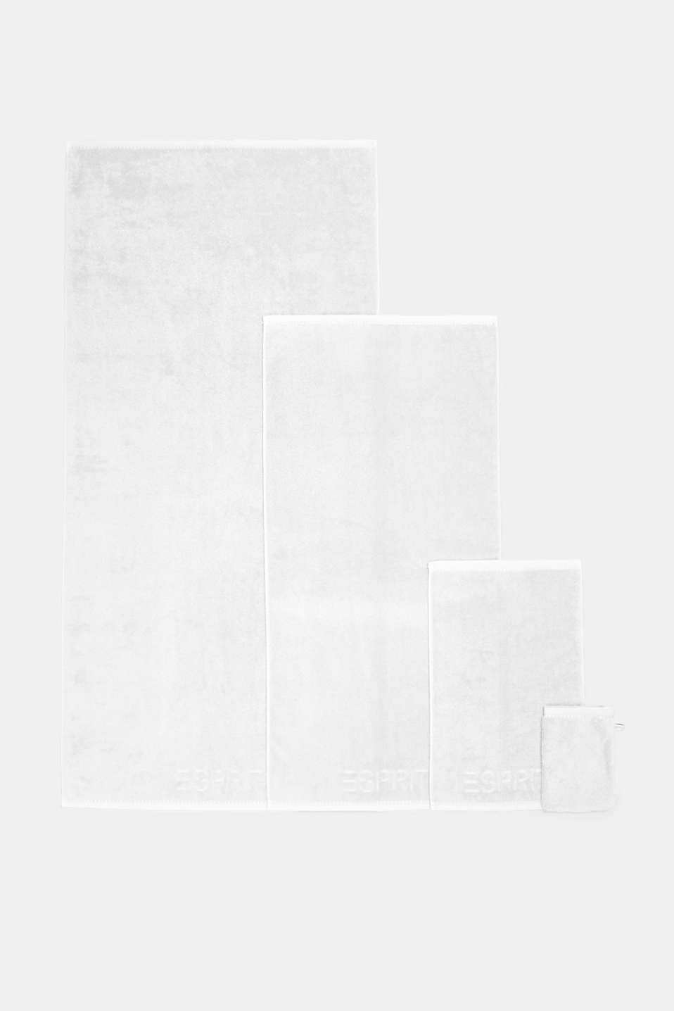 With TENCEL™: terry cloth towel collection, WHITE, detail image number 3