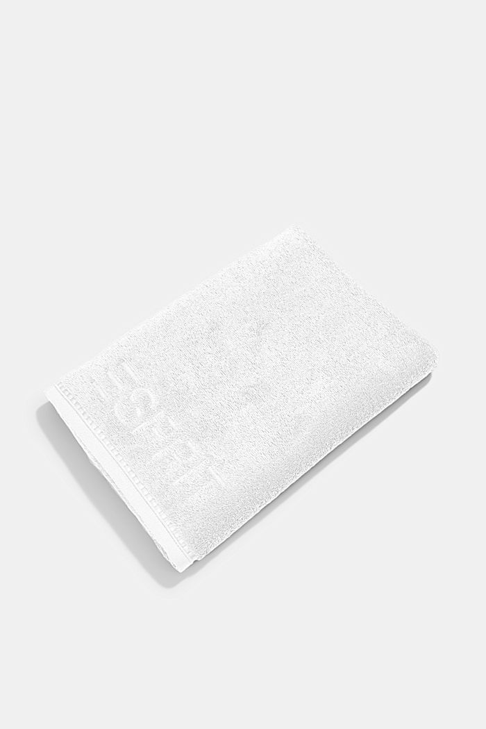 With TENCEL™: terry cloth towel collection, WHITE, detail image number 2