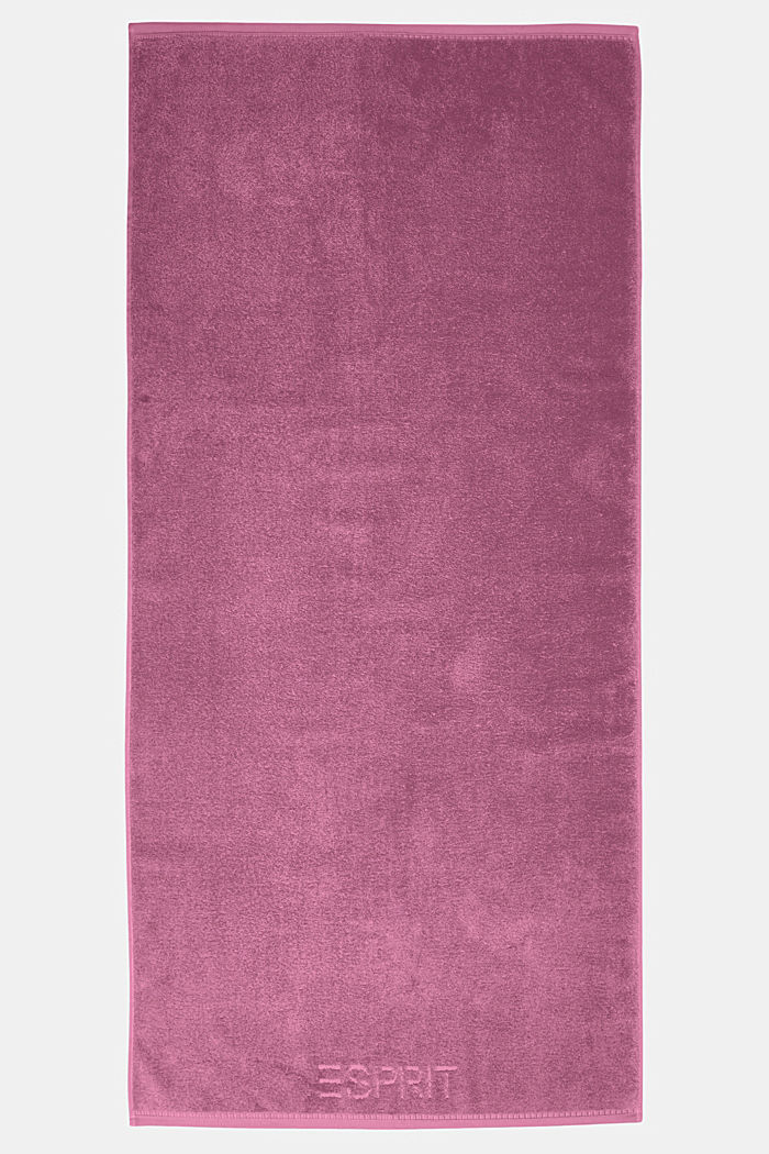With TENCEL™: terry cloth towel collection, BLACKBERRY, detail image number 2