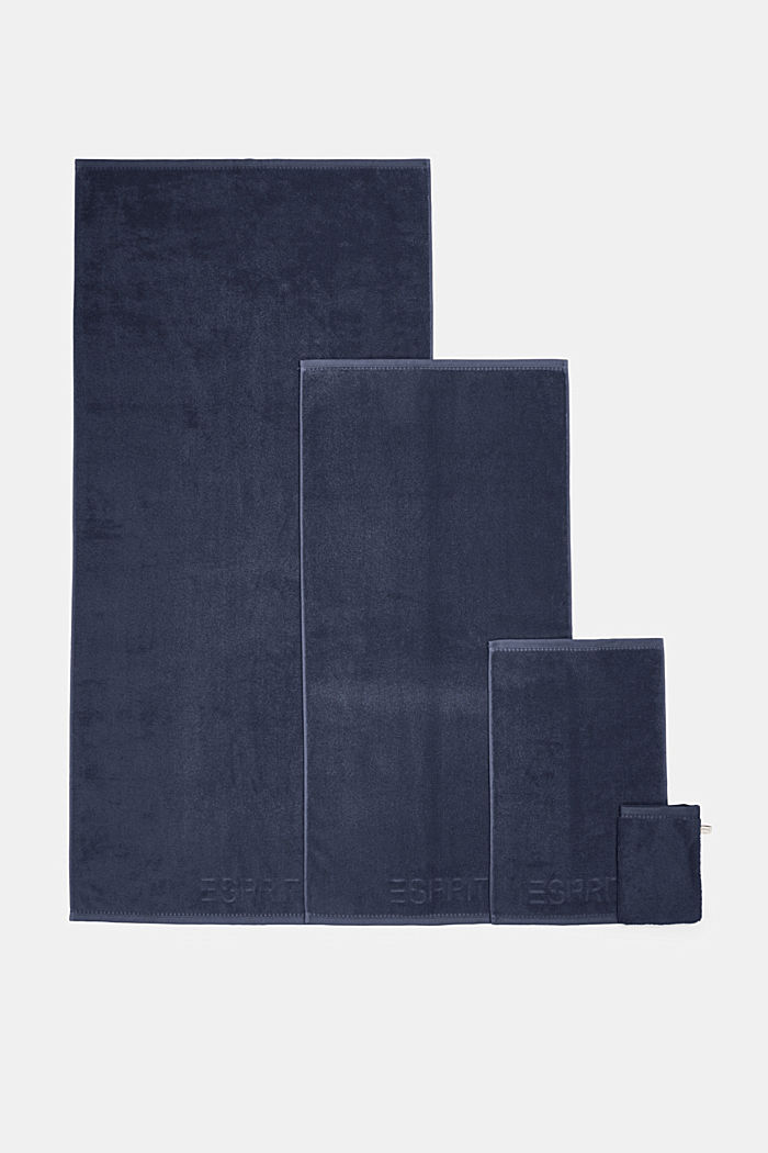 With TENCEL™: terry cloth towel collection, NAVY BLUE, detail image number 4