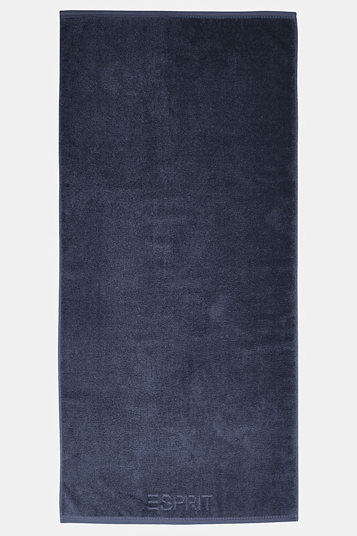 With TENCEL™: terry cloth towel collection, NAVY BLUE, detail image number 2