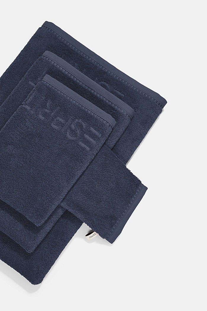 With TENCEL™: terry cloth towel collection, NAVY BLUE, detail image number 3