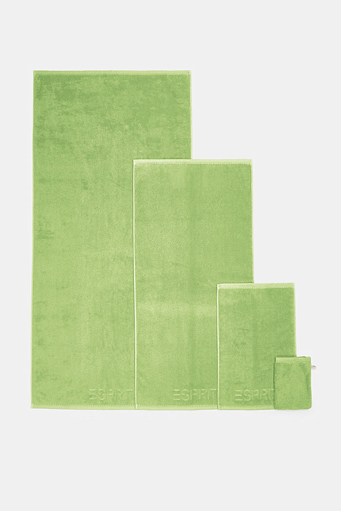 With TENCEL™: terry cloth towel collection, GREEN APPLE, detail image number 4
