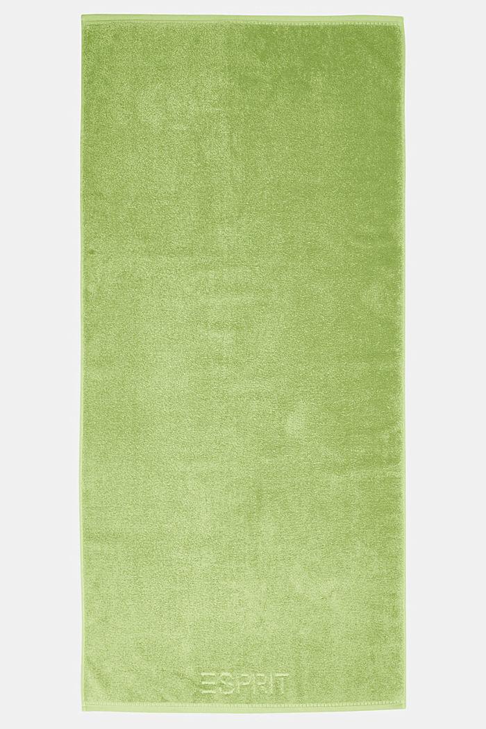 Z TENCELEM™: seria jednokolorowych ręczników z froty, GREEN APPLE, detail image number 2